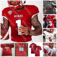 Miami (OH) Redhawks Jersey de fútbol Ncaa College Ben Roethlisberger Brett Gabbert Jaylon Besster Tire Shelton Jack Sorenson Maye Walker Ivan Pace Jr. Butler