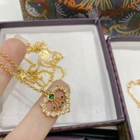 Luxury Brand Bracelet 2021 new Dijia d family Qixi limited edition red love color diamond letter CD net Necklace