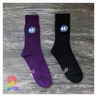 Ins Trendy Ader Hata Çorap Yüksek Kalite Işlemeli Çift İğne Pamuk Spor Çorap Aderror Moda Rahat Unisex Çorap X0602