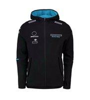 Sweat-shirt F1, Jacket à manches longues de l'équipe, costume de course de voitures masculines et féminines, chemise de sport de loisir en plein air, le même style peut être personnalisé