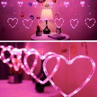 LED corazones LED luz de cortina 220V 110V Navidad guirnalda cadena luces de hadas al aire libre para casa boda fiesta año nuevo decoración