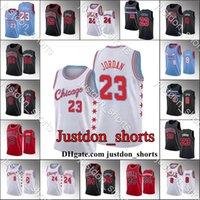 Mens Zach Lavine Lauuri Markkanen City Black Red Edition Новая Униформа Горячая Пресс Баскетбол Майки Blue Sky Рубашки CamiSetas