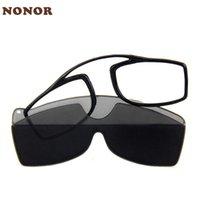 Güneş Gözlüğü Mini Yapışkan Okuma Gözlükleri Burun Klip Erkekler Kadınlar Için Presbiyopik Büyüteç