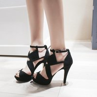 Sandals 2021 Woman Shoes Summer Footwear The Comfortable Open Toe Fashion Sexy High Heel Casual Plus Size