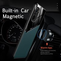 F3 Poco Texture Car Leather Case Magnetic Holder Cover for Pocophone Little Poco f3 f3 5g pocof3 shockproof coke silicone frame