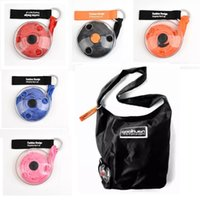 Storage Bags Super-small portable folding telescopic disc shopping multifunctional storages bag
