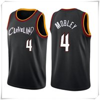 "Evan 4 Mobley Cleveland ""Cavaliers"" Jersey Collin 2 Sexton Minnesota ""Timberwolves"" Anthony 1 Edwards Towns Basketball Jerseys Top"