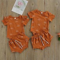 Kids Tracksuits For Children Baby Infant Boy Girls Clothing Shorts Loungewear 2pcs Baby's Sets