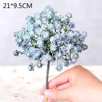 Naturally Dried Flowers Artificial Plants Floral Branch For Wedding Party Decoration Fake Home Decor Decorative & Wreaths
