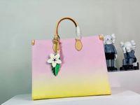 2021 Original de alta calidad Diseñador de lujo Bolso de diseño OnThego Tote Twist Bags Messenger Bolsa de compras Hombro Bolsillos Totes Bolsas de cosméticos Envío gratis