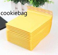 Sac Mailing Bubble Kraft PE 11x13cm pour chiffons de transport postaux Emballage Pochettes enveloppe Adhésion d'auto-joint vide 54