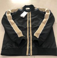 Modejacke Windjacke Langarm Mens Jacken Hoodie Kleidung Reißverschluss mit Tierbrief Muster Plus Größe Kleidung M-3XL