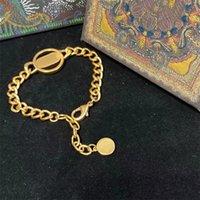 High Quality Love CD Letters Bracelet Fine Jewelry Heart For Women Gold Charm Bracelets Pulseiras brand designed X1012A