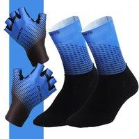 Cycling Gloves Professional Half  Full Finger Socks Mens Women Summer Outdoor Sports Trekking Racing Bike And Set1