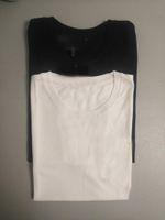 S-5XL Coton Hommes T-shirts T-shirts Anti-Shrink Femmes T-shirts Noir Mens Femmes Fashion Funny Coton Homme t-shirts Top shirts à manches courtes