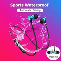 XT11 Magnetic Bluetooth Earphones 4.2 Wireless Stereo Headset In-Ear Headphone Earphone For iPhone 12 XS Max 8 Plus Samsung S10+ Huawei P30