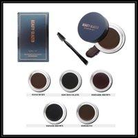 Epack Schönheit glasiert 5 Farben Augenbraue Enhancer Wasserdichte langlebige Nahrende Augenbraue-Sahne Gel High-Brow-Tönung