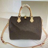 Высочайшее качество Мода Наклонная сумка на налюбленной подушкой Кожаная мономовая сумка Crossbody Сумки M41113 M41112 M41111 25см 30 см 35см
