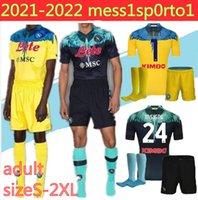 Adulto 20 21 Napoli Jersey Home 2021 Nápoles Zielinski Hamsik Insigne Mertens Callejon Rog Camisas de futebol