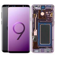 100% тестированные супермобильные панели для Samsung Galaxy S9PLUS G965 ЖК-дисплей S9 G960 Сенсорный экран Digitizer Сборка замены запасных частей