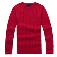 망 스웨터 크루 넥 마일 와일 폴로 망 클래식 스웨터 니트 겨울 레저 바닥 스웨터 점퍼 풀오버 8colors