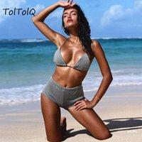 Toltolq motif or et argent 2021 Quatre pantalons angulaires Beachwear Summer Bodysuits Sexy Fashion Femmes Romper PlaySuits Jumpseau pour femmes Rom