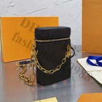 رسالة الهاتف محافظ حقائب واحدة الكتف مصغرة سيدة المصممين الشهير السيدات جلد طبيعي سلسلة حقيبة اليد كروسبودي المرأة الصغيرة رسائل كاملة حقائب اليد اليومية