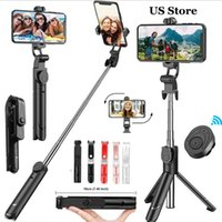 Selfie Monopods Details About 360° Extendable Tripod Stick Wireless Bluetooth Remote For IOS Android