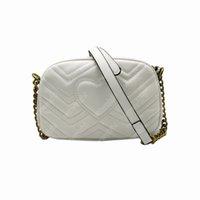 Alta Qualidade Marmont Mulheres Bolsas de Prata Chain Bolsas De Ombro Crossbody Soho Saco Discoteca Messenger Saco Bolsa Carteira 5 Cores Em Estoque