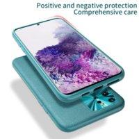 럭셔리 가죽 셀 케이스 소프트 커버 보호 휴대 전화 뒷면 360 S9 / 10 / 20 Plus Note 9 10 Pro에 대 한 완전 보호 뒷면 커버 쉘