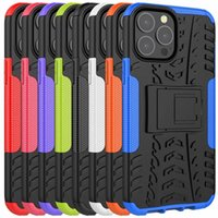 Dazzle Kickstand Case For Iphone 13 Pro Max Mini Samsung Galaxy S21 FE A22 5G 4G S20 Plus Ultra 6.9inch A51 A71 ShockProof Rugged Tire Hybrid Armor Hard PC TPU Holder Cover