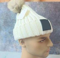 Bonnets en gros Bonnets de crâne Luxur Skull Hop Hop Hover Hiver Chapeau chaude Chapeau de laine tricotée pour femme Gorro Bonnet Caps