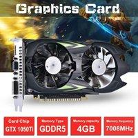Em estoque! Gtx1050ti placa gráfica 4G DDR5 desktop computador independente hd game atacado