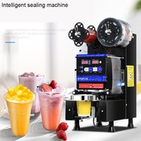 480W Full Automatic Commercial Cup Sealer Coffee Cup Sealing Machine Milk Tea Sealing Machine Plastic Paper Cup Sealing Machine