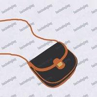2021 Vendas Crazy Moda Feminina Ombro Saddle Sacos Luxo Lady Bolsas Bolsas Flap Designer Saco Versátil Vintage Clássico Velho Padrão Velho Ouro Duas Opções de Cor