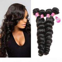 8A свободная волна волос 4 пакета необработанные волнистые волосы волнистые волосы плетение бразильские перуанские малазийские индийские реальные человеческие волосы оптом