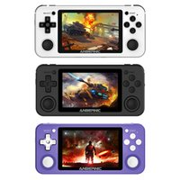 RG351P Vibration Handheld Gaming Console Support GB GBC NDS PSP PS1 3.5 inch Screen Retro Game Player with TF Card