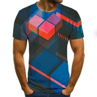 Summer Three-Dimensional Vortex Men Women 3D printing Oversized T-Shirt Fashion O-Neck Short Sleeve Trend Comfortable T-Shirt TXU-1104