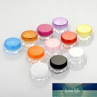 15pcs lot 5g Cosmetic Empty Jar Pot Trials Samples Cream Jar for Makeup plas empty cream bottle in Refillable bottles