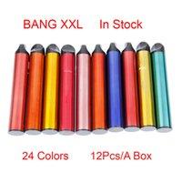 Bang XXL Disposable E cigarettes Device 800mAh Battery Pre-filled 6ml Pod 2000 Puffs XXtra Kits Vape Pen VS Bar PLUS Flow Authentic