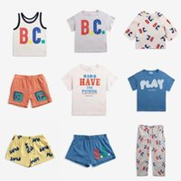 Clothing Sets Kids Set 2021 Summer BC Brand Baby Boys T-shirts Short Sleeves T Shirt Toddler Clothes Top Pants Girls Suit Fashion