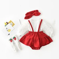 2021 New Girls Clothing Autumn Children Stars Sequined Lantern Sleeve Tops+overalls+headband+stockings 4pcs set Kids Clothes Sets Phez