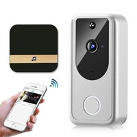 Video Door Phones Wireless Wifi Doorbell Home Smart Phone Bell Camera Security Intercom With 1080P HD IR Night Vision For Apartments
