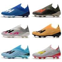 2019 Hombres Clases de fútbol x 19+ FG Zapatos de fútbol original X 18 FG Botas de fútbol Botas al aire libre Scarpe DA Calcio de alta calidad Nemeziz