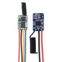 Smart Home Control 3.7V Interrupteur à distance Économie d'alimentation 0.6mA STANDBY COURANT RF SANS FIL 3.3V 3.6V 4.2V 433 MINI ON OFF