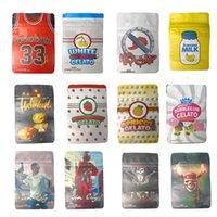 3.5g Mylar Bag 33 Backpack Boyz 420 Cheiro Prova Rolável Zipper Pacote Bags Banana Leite Tomyz Gelato Merzgato Baggie