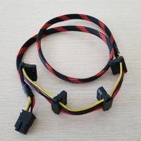 TR2 RX 850W ATX MOD 8Pin bis 4 4pin IDE Molex Stromversorgung Kabelkabel 18AWG-Draht Nylon Net insgesamt 80 cm Computerkabel-Anschlüsse