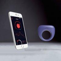 Yeain app wearable galo anel vibradores inteligente dante bluetooth controle pênis mangas sem fio clitóris clitóris massageador