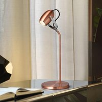 Table Lamps Adjustable Angle Lamp Modern Simple Creative Personalized Metal Led Reading Nordic Head Shaking Lights Fixtures