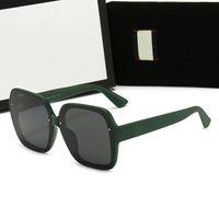 النظارات الشمسية مربعة المرأة 2021 خمر ماركة المعتاد المرأة النظارات الشمس الأسود